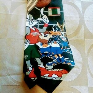 Looney Tune Mania Accessories - LOONEY TUNE & ANDHURST BASKETBALL TIES